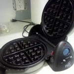 Father's Day Waffles…eventually