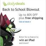 eBay back-to-school deals: big savings & free shipping!
