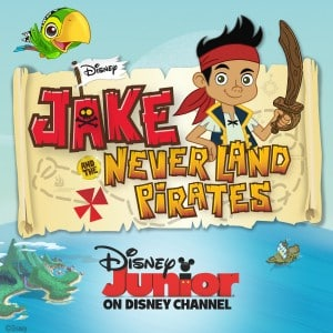Jake and the Never Land Pirates logo from Disney Junior