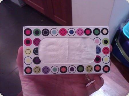 Kleenex share pack