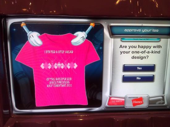 designing my custom Hanes t-shirt