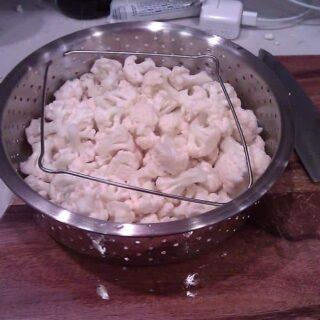 Mashed cauliflower & muesli–but not together!