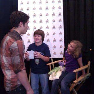 Hanging with Nick Jonas