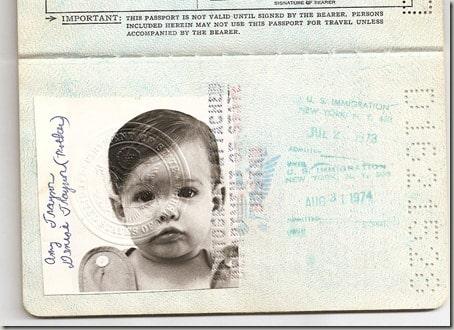 baby passport picture