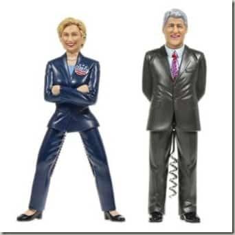 Bill & Hillary Combo Set