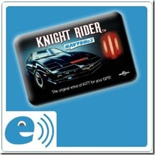 Knight Rider voice card