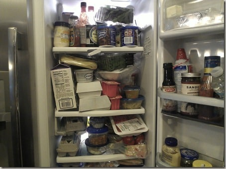 fridge - before