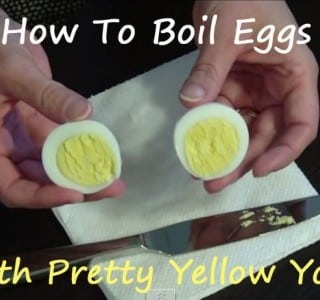 How To Make Perfect, Pretty Hard Boiled Eggs