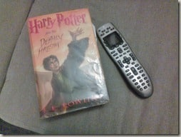 Harry Potter and the remote