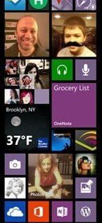 My Very Own Windows Phone 8 Start Screen