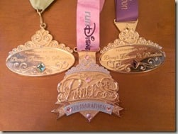 princess medals