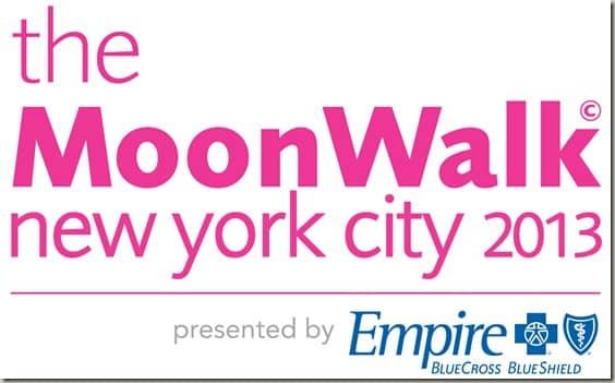 The MoonWalk NYC logo