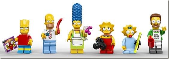 Simpsons Lego Family