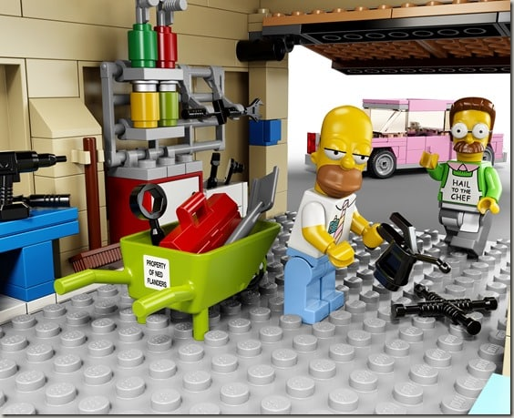 Simpsons Lego Garage