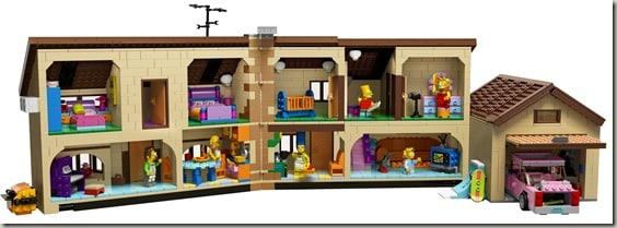 Simpsons Lego House