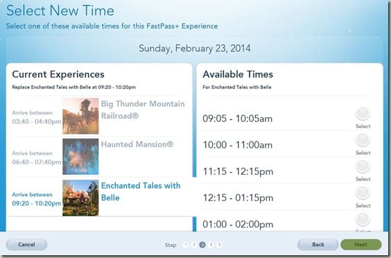 Walt Disney World FastPass  Reservations (12)