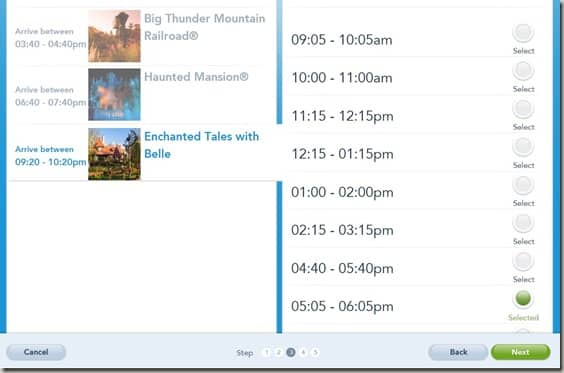 Walt Disney World FastPass  Reservations (13)