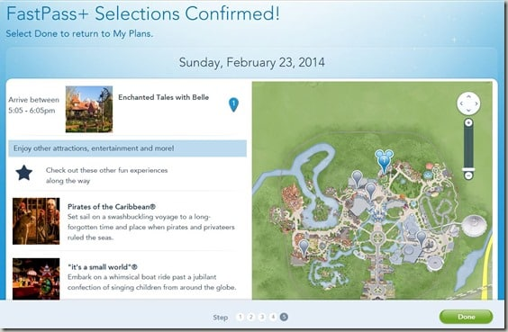 Walt Disney World FastPass  Reservations (15)