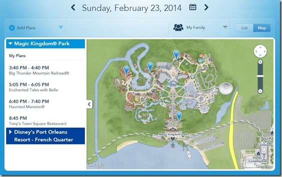 Walt Disney World FastPass  Reservations (19)