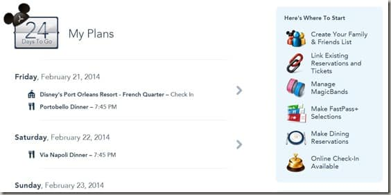 Walt Disney World FastPass  Reservations (1)