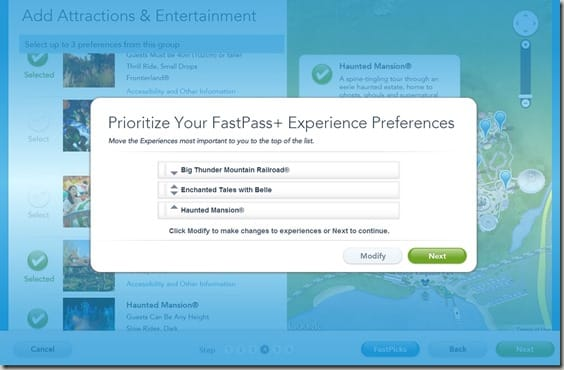 Walt Disney World FastPass  Reservations (7)