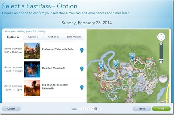Walt Disney World FastPass  Reservations (8)