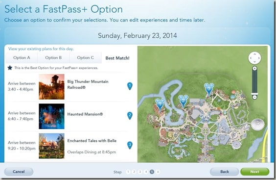 Walt Disney World FastPass  Reservations (9)