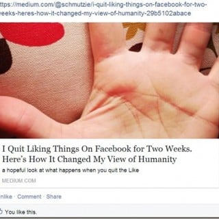 I tried The Latest Facebook Challenge; I Lasted Ten Minutes
