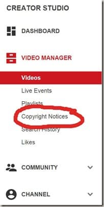 Copyright Notices