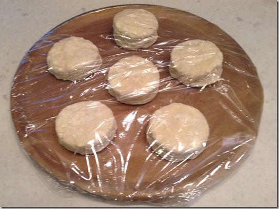 Biscuit recipe, frozen biscuits