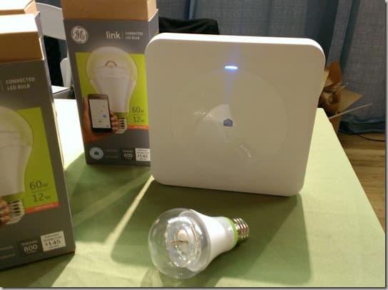 GE Lighting's Wink and Link
