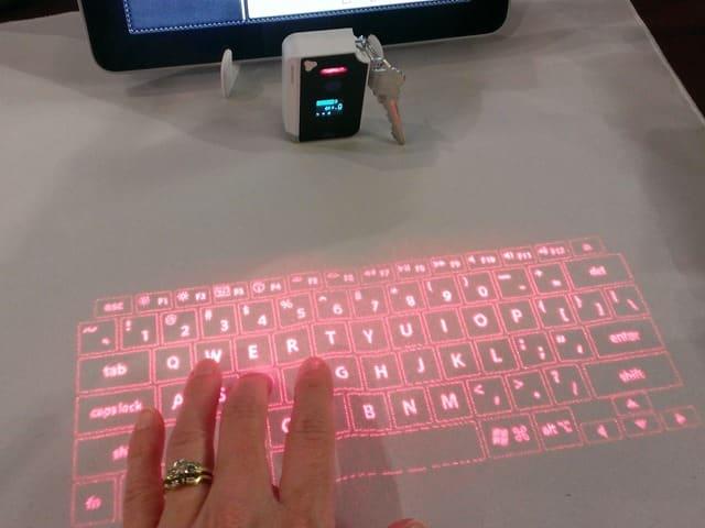 Brookstone S Virtual Keyboard