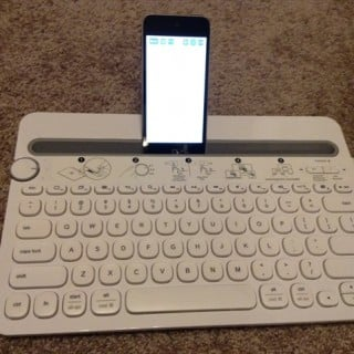 A Bluetooth Keyboard For Multiple Devices