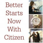 Upping My Game With Citizen