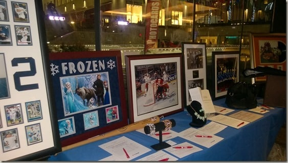 Skate with the Greats 2015 - silent auction