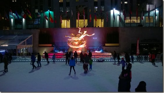 Skate with the Greats 2015 - Rockefeller Center rink