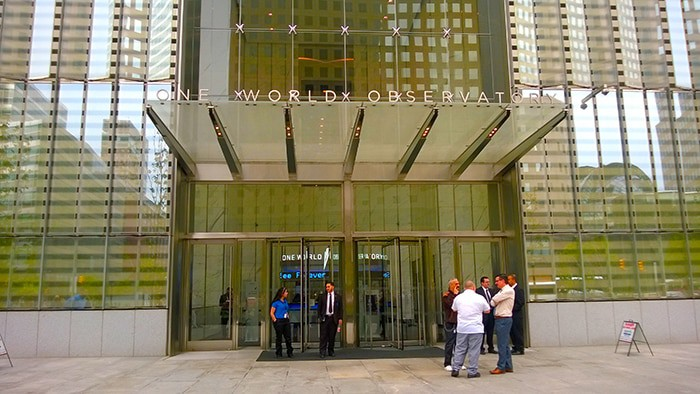 One World Observatory - outside entrance