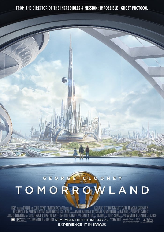 Tomorrowland is a good movie - visually stunning and well acted. But it is not a great movie. Slow in parts, it seemed longer than its two-hour, ten-minute running time.