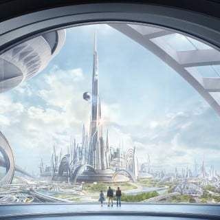 Tomorrowland: Cranky Clooney, A Spunky Heroine, And Amazing Visuals