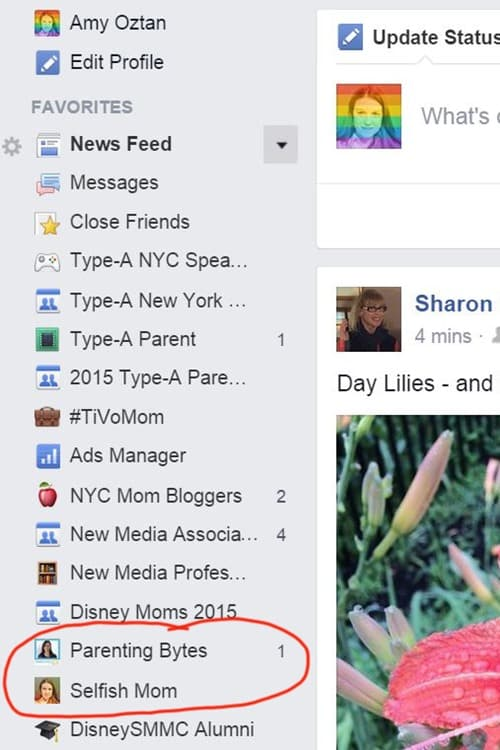 how to arrange your facebook favorites amy ever after