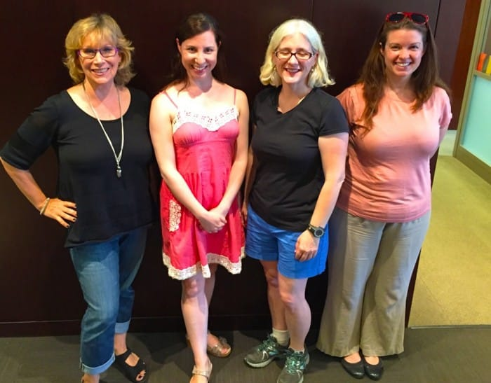 Andrea Smith, Rebecca Levey, Babette Roberts, Amy Oztan