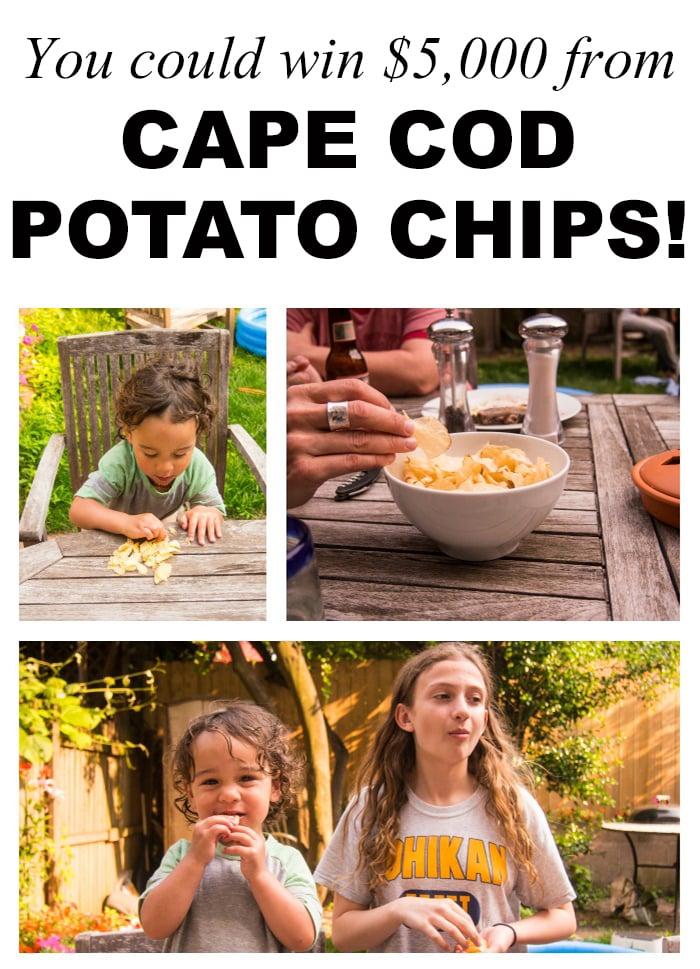 Cape Cod Potato Chips promotion