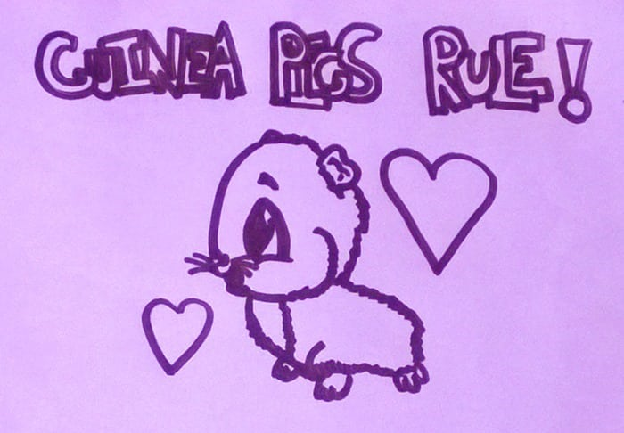 My daughter really wants guinea pigs, and she's been pretty relentless about it. I think we might be giving in.