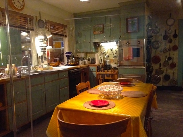 Julia Child's kitchen at the Museum of American History in Washington D.C.
