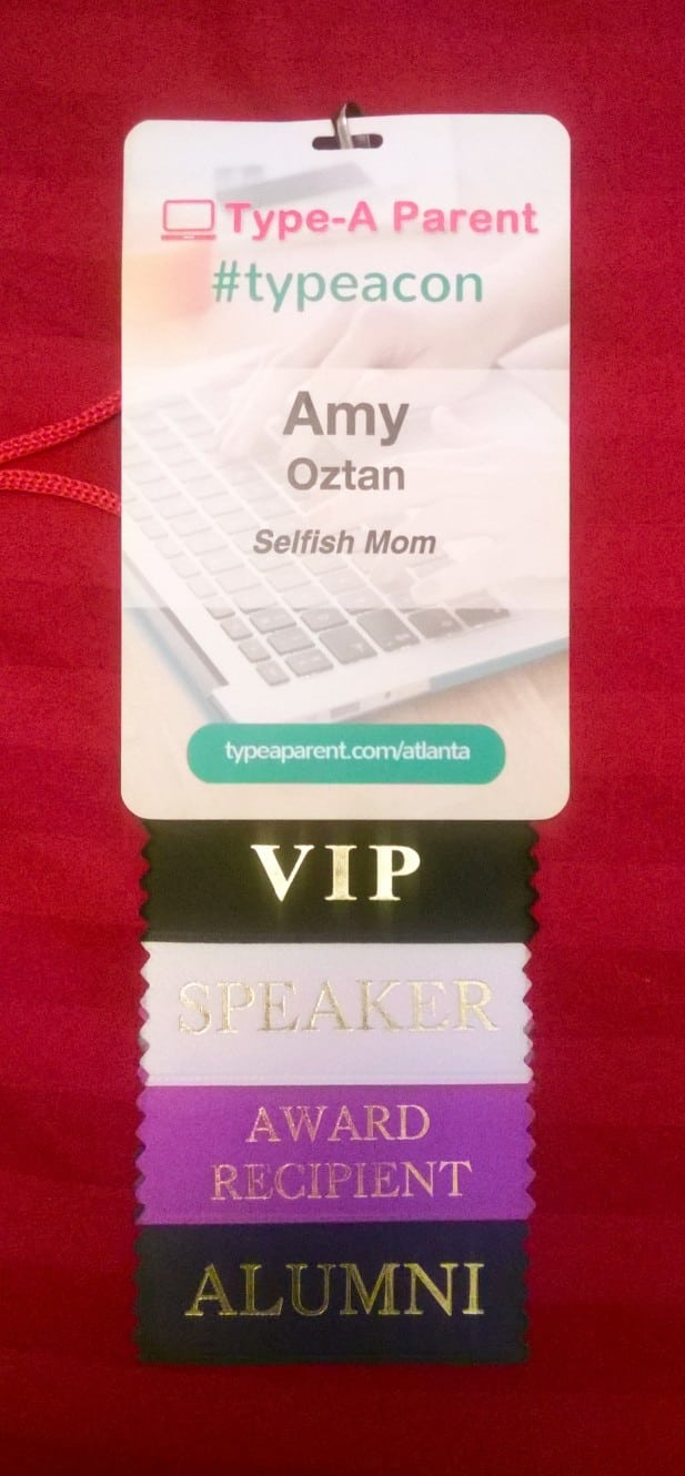 Type-A Conference Badge