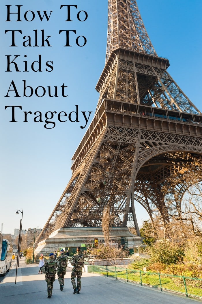Talking to kids about tragedy is hard. How much do you tell them? How do you inform them without terrifying them? I've got some tips for you.