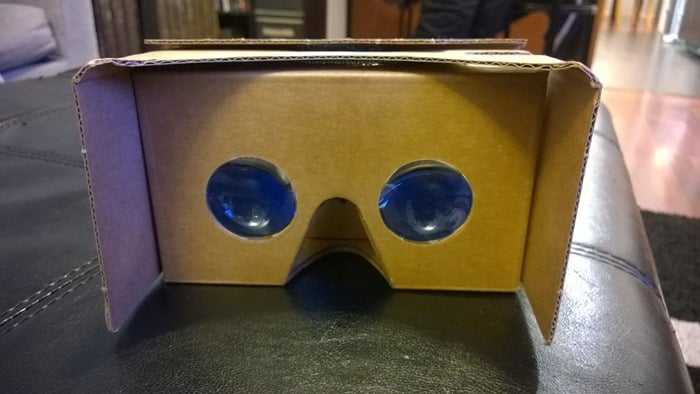 Did you get a Google Cardboard Virtual Reality Viewer with your New York Times newspaper this weekend? Here's how to use it!