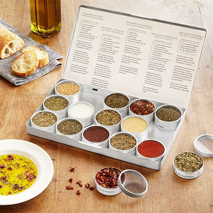 collection of herbs and spices from uncommongoods