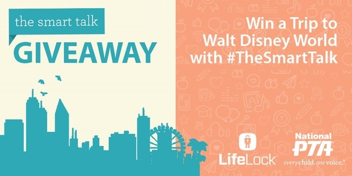 Twitter Graphic - The Smart Talk with LifeLock logo