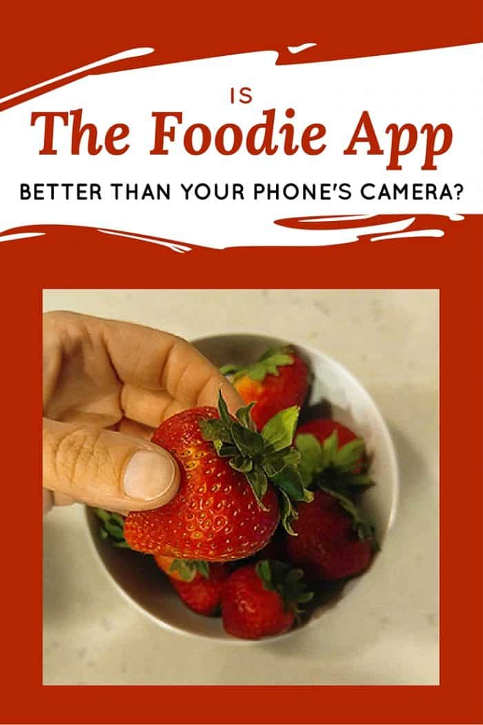 Is the Foodie App better than your phone's camera? And do you really need an app just to take pictures of food? I kinda think you do! Here's how to use the Foodie app.